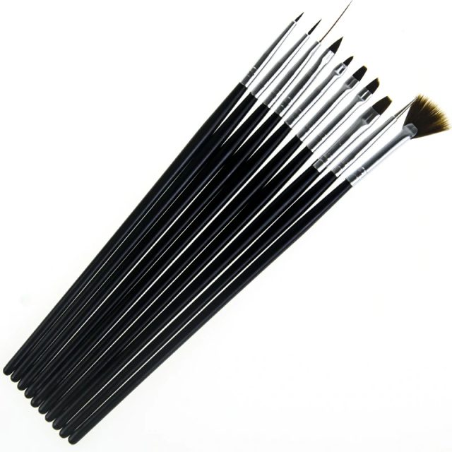 10Pcs Nail Art Brush Liner | online brands