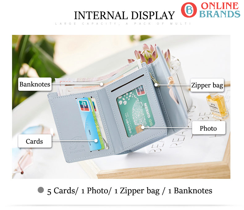 clutch wallet for women with pointed lock, Free shipping in Canada | online brands