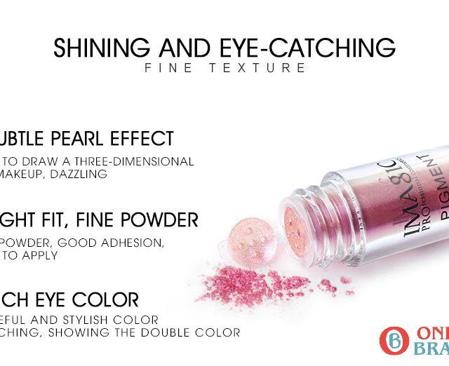 Waterproof Glitter Eye shadow Metallic Loose Powder, Free Shipping   Online Brands