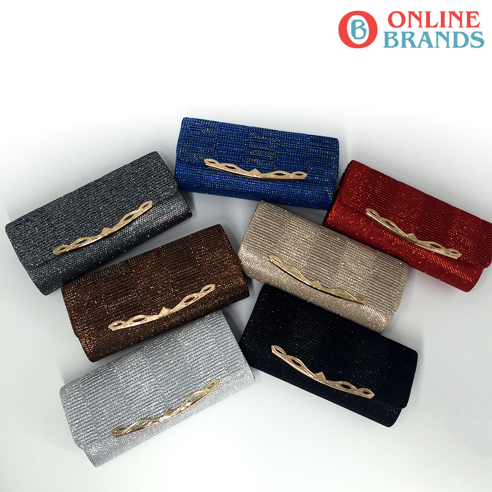 Shiny Women Evening Bag With Chain, Free shipping | Online Brands